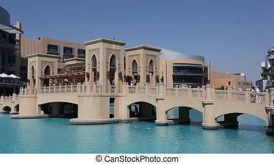 Bridge at the Dubai Mall