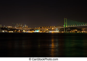bridge at the night