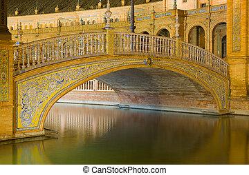 Bridge at The Plaza de España