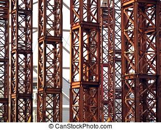 Bridge Construction Closeup