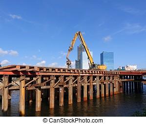 Bridge Construction in Kaohsiung City