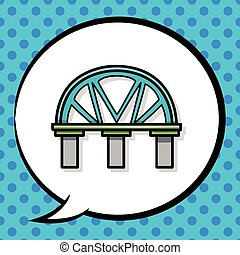 bridge doodle