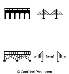 bridge icon set