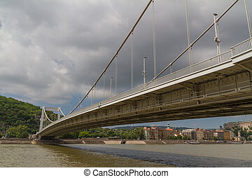 Bridge in Budapest, Hungary