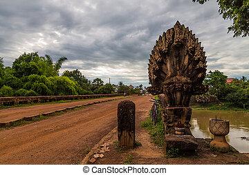Bridge in cambodia