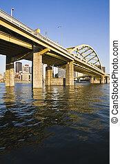 Bridge in Downtown Pittsburgh