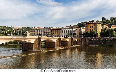 Bridge in Florence , Italy