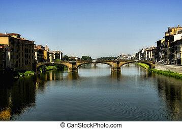 bridge in florence italy