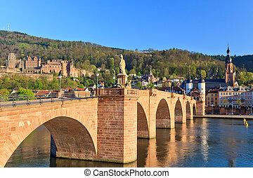 Bridge in Heidelberg, Germany