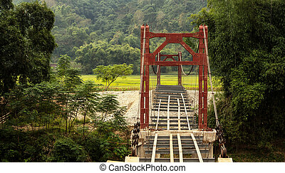 Bridge in Laos
