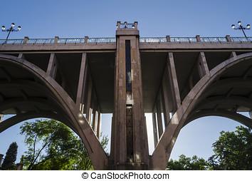 Bridge in Madrid