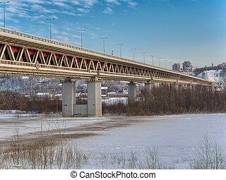 Bridge in Nizhny Novgorod