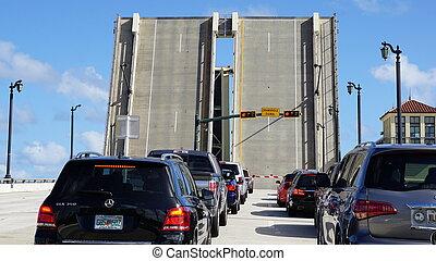 Bridge in Palm Beach, Florida