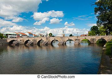 Bridge in Pisek