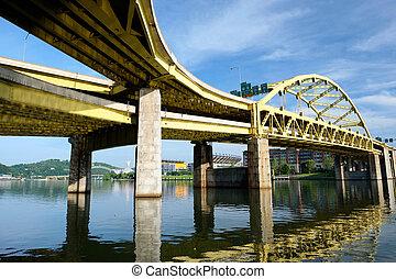 Bridge in Pittsburgh, Pennsylvania