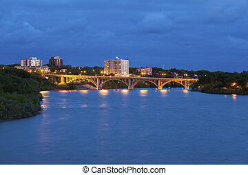 Bridge in Saskatoon