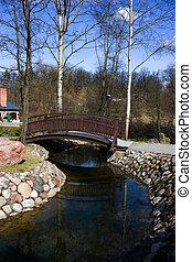 Bridge in Spring Park