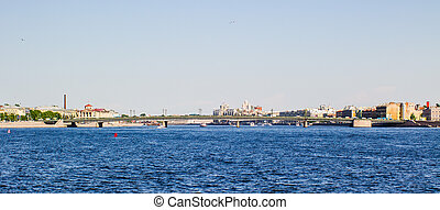 Bridge in St. Petersburg