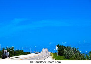 bridge in the Florida Keys