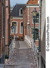 Bridge in the old center of Appingedam