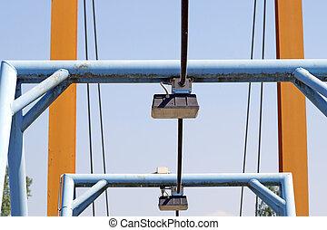 bridge lamp detail