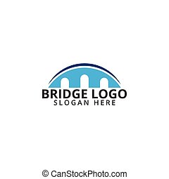Bridge logo icon template