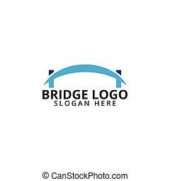 Bridge logo icon template