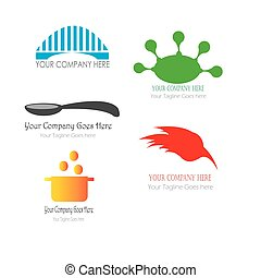 bridge logo template illustration vector
