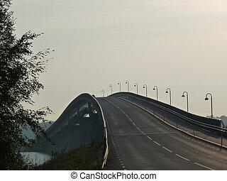 Bridge - M?cklesunds bridge in Sweden