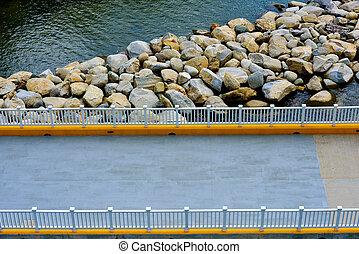 Bridge near the water