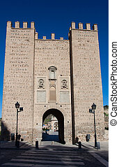 Bridge of Alcantara, Toledo, Castilla la Mancha, Spain