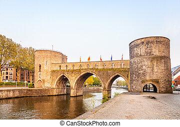 Bridge of holes or Pont des Trous, the medieval bridge ...