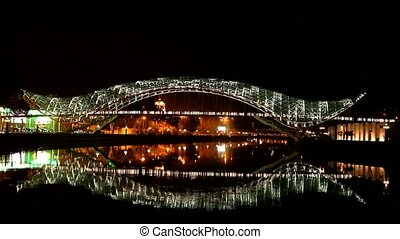 Bridge of Peace. Tbilisi, Georgia