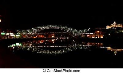 Bridge of Peace. Tbilisi, Georgia