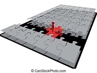 bridge of the puzzle