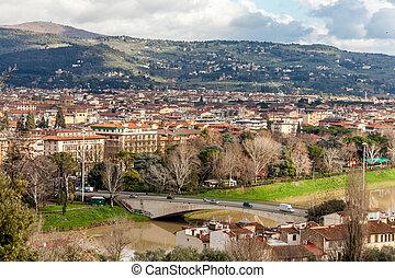 Bridge On Arno River, Florence