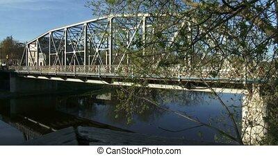 Bridge on Grand River in Elora