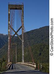 Bridge on the Carretera Austral