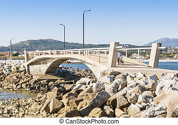 Bridge on the coast