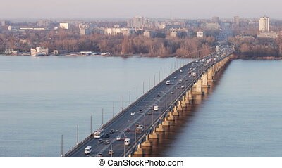 Bridge on the River Dnieper