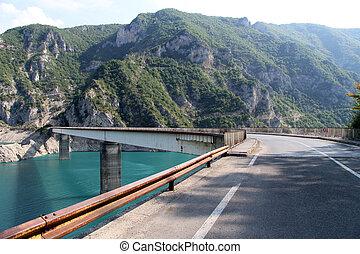 Bridge on the road