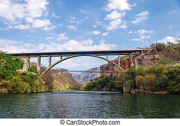 Bridge over a Canyon