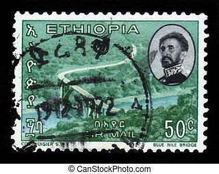 bridge over blue nile river, Ethiopia