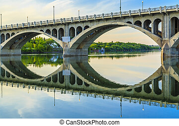 Bridge over Calm Waters - The calm waters of the South...