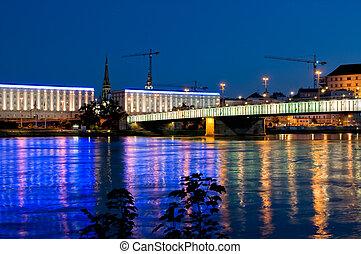 Bridge over Danube River