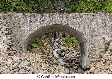 Bridge Over Edith Creek in Paradise