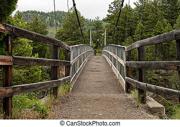 Bridge Over Hellroaring Creek
