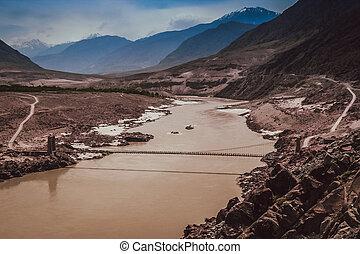 Bridge Over Hunza