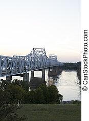 Bridge over Mississippi River - Bridge over the Mississippi...