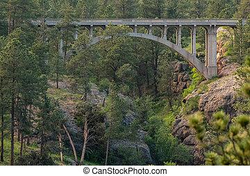 Bridge Over Ravine in Wind Cave